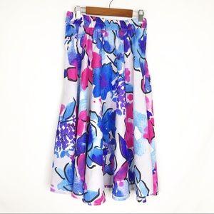 Mix Nouveau | Floral Midi Skirt